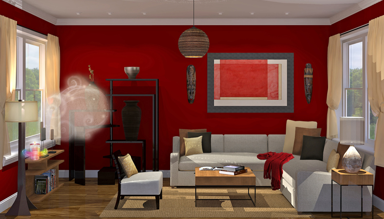 Air Wick rendering soggiorno etnico caldo