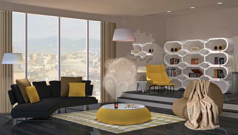 Air Wick rendering soggiorno pop caldo