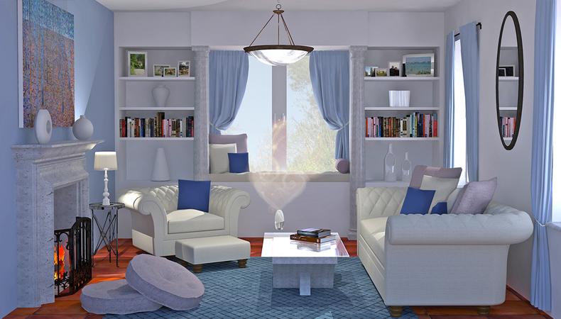 Air Wick rendering soggiorno classico rilassante