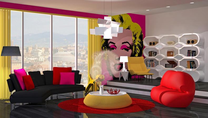 Air Wick rendering soggiorno pop energetico