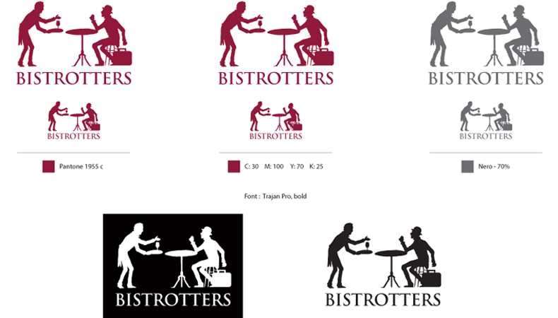 Design business logo Italy Umbria