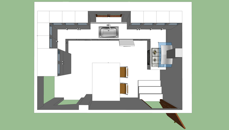 cucina privata progettazione