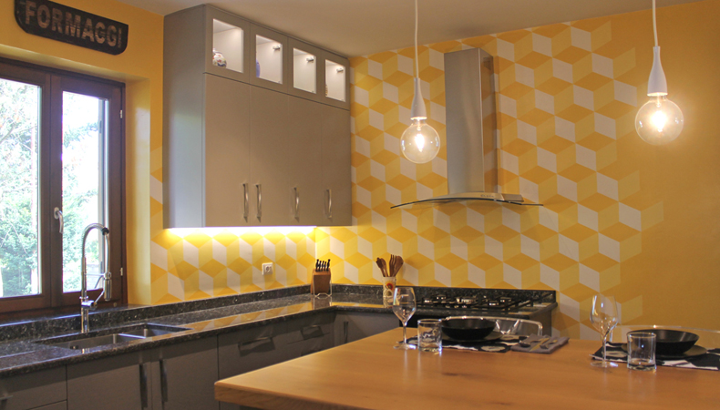 Cucina privata interior design