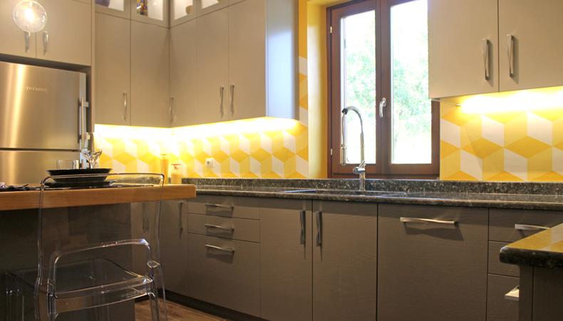 Cucina privata interior design
