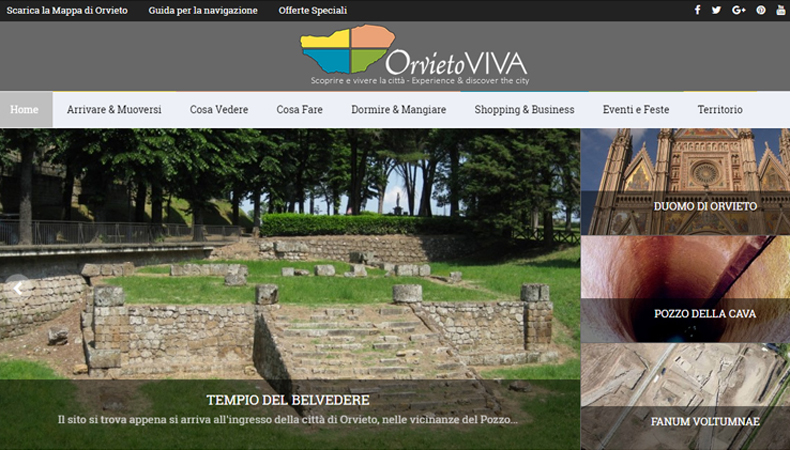 Orvietoviva.com sito web