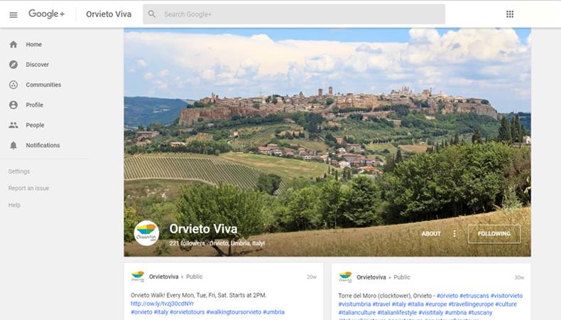Orvietoviva.com google+