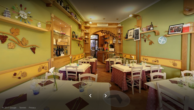Trattoria La Pergola virtual tour