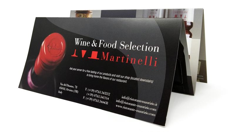 Brochure ristorante Umbria