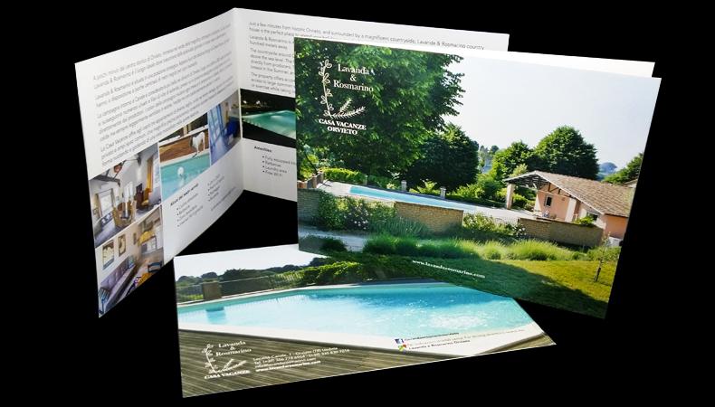 Brochure e depliant Orvieto Umbria